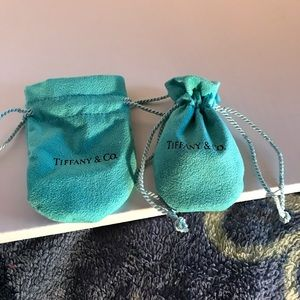 Tiffany & Co. Bags - Two Tiffany & Co dust pouch/ jewelry protector